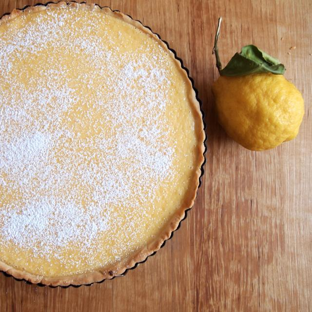 Rezept von Giorgio Locatelli: Zitronen-Mascarpone-Kuchen