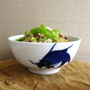 Rezept von Kimiko Barber: Gebratener Reis mit Rindfleisch und Frühlingszwiebeln