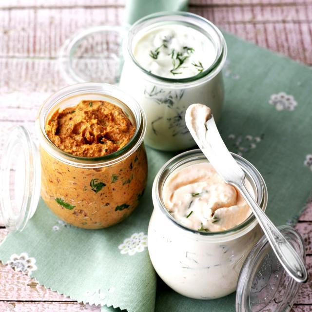 Rezept von Cynthia Barcomi: Forellencreme, Lachscreme & Tomatencreme