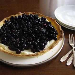 Aus Valentinas Küche: Blaubeertarte