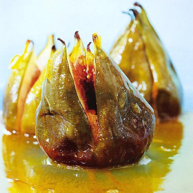 Rezept von Annemarie Wildeisen & Florina Manz: Feigen mit Orangensauce