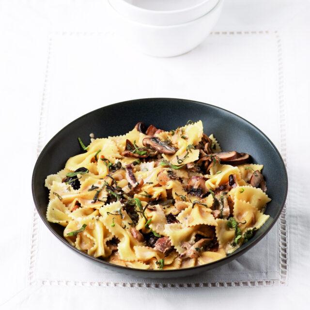 Rezept von Stefano Manti: Pasta alla boscaiola mit Steinpilzen