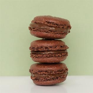 Rezept von Karin Messerli: Macarons noir