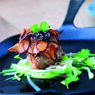 Rezept von Sabine Hans: Ingwer-Pflaumentapenade im Schweinefilet