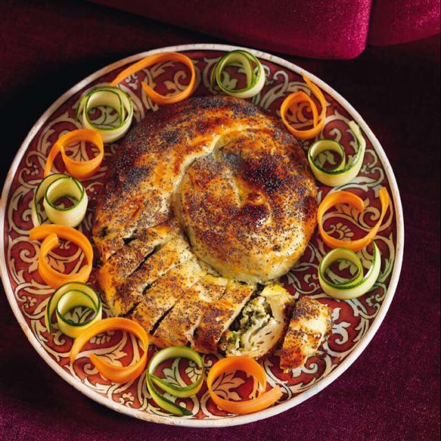 Rezept von Ali Bicer: Gemüse-Börek