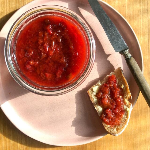 Aus Valentinas Küche: Rhabarber-Orangen-Marmelade