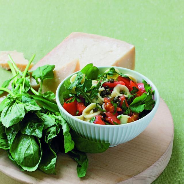 Rezept von Michele Cranston: Pasta mit frischen Tomaten & Rucola