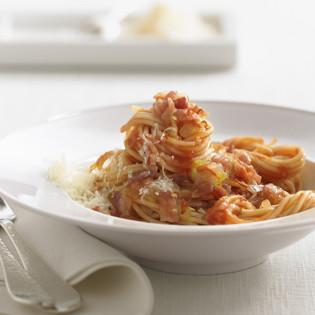 Rezept von Cornelia Poletto: Spaghetti all'amatriciana
