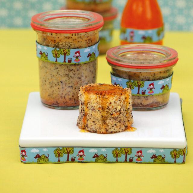 Rezept von Annik Wecker: Mohn-Orangen-Kuchen im Glas