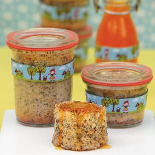 Rezept Von Annik Wecker Mohn Orangen Kuchen Im Glas Valentinas