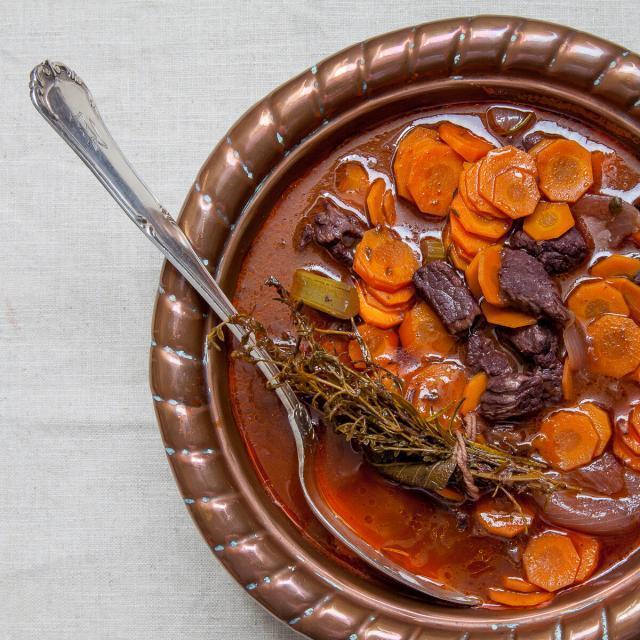 Rezept von Murielle Rousseau: Estouffade de boeuf