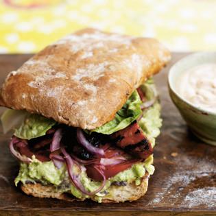 Rezept von Thomasina Miers: Mexikanisches Sandwich + Salsa + Chipotle-Mayonnaise