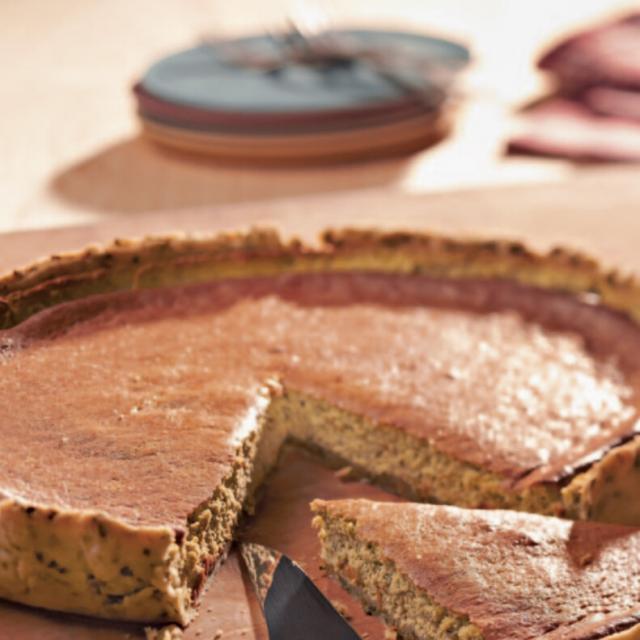 Rezept aus der Kräuterküche: Bärlauchtarte