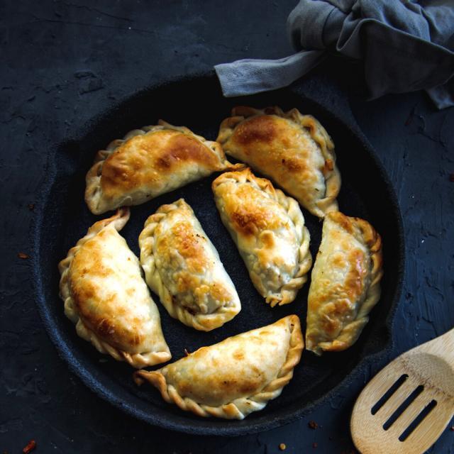 Rezept von Paul Allam: Empanadas mit Kichererbsen