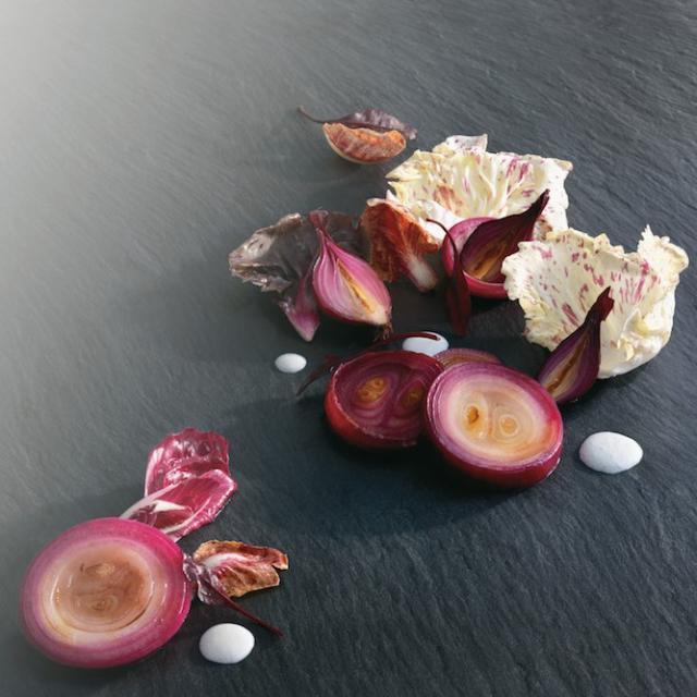 Rezept von Fumiko Kono: Rote Zwiebeln griechisch-japanisch eingelegt