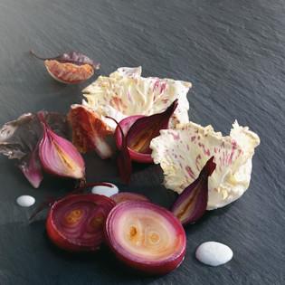 Rezept von Fumiko Kono: Rote Zwiebeln – griechisch-japanisch