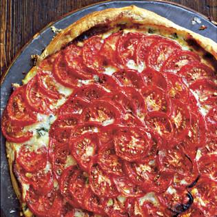 Rezept von Diana Henry: Tomaten-Basilikum-Tarte