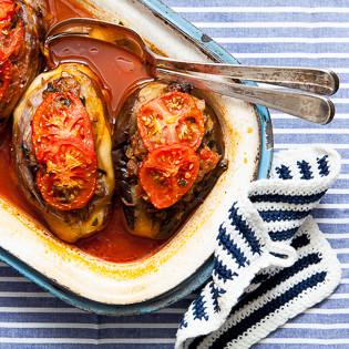 Rezept von Semiha Stubert: Gefüllte Auberginen