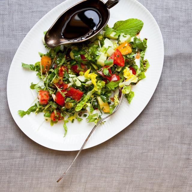 Rezept von Semiha Stubert: Frischer Kräutersalat