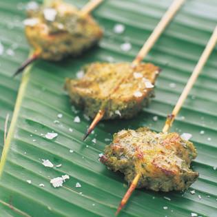 Rezept aus Fingerfood: Curry-Kokos-Huhn