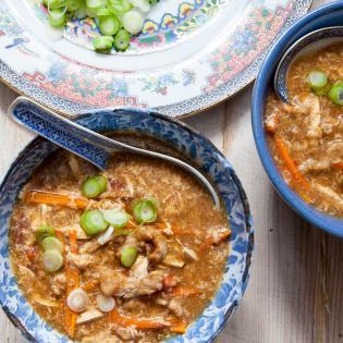 Rezept von Li Hong: Chinesische sauer-scharfe Suppe