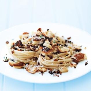 Rezept von Donna Hay: Schnelle Steinpilz-Spaghetti