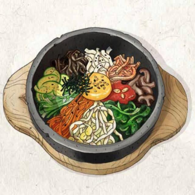 Rezept aus Das Korea-Kochbuch: Bibimbap – Rind oder Veggie