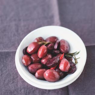 Rezept von Sebastian Dickhaut: Rotweinkartoffeln mit Chorizo