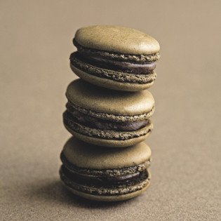 Rezept von José Maréchal: Schokolade-Macarons mit Schokoladenganache