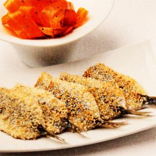 Rezept von Ferran Adrià: Sardinen mit Karottensalat