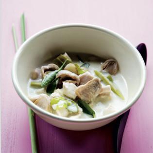 Rezept aus Thaiküche: Thom Kha Gai