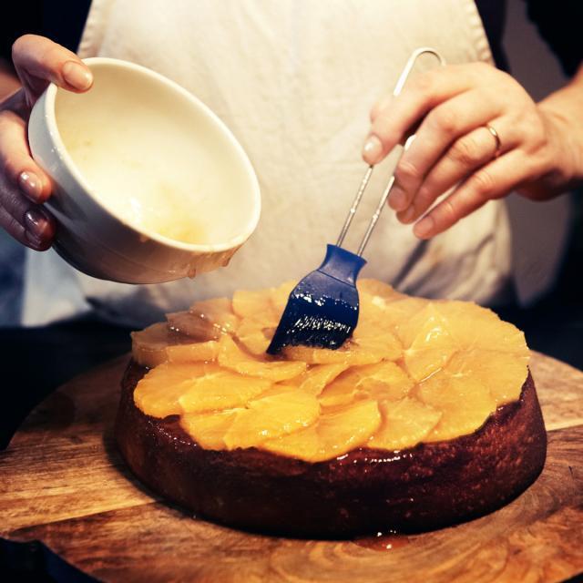Rezept von Yvette van Boven: Orangen-Polenta-Tarte