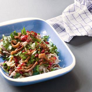 Rezept von Claus Meyer: Dezembersalat mit knuspriger Ente