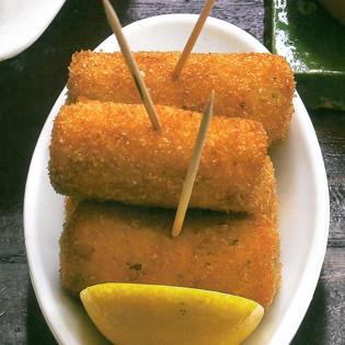 Rezept von Margit Kunzke: Kartoffelkroketten mit Fisch
