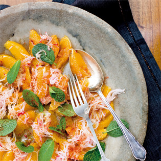 Rezept von Stephanie Alexander: Orange, Radish and Mint Salad