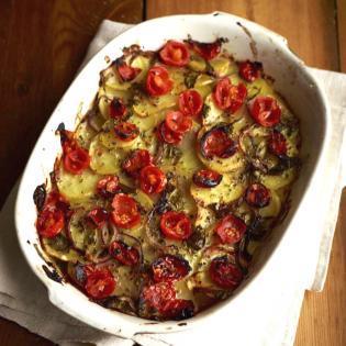 Rezept von Antonio Carluccio und Gennaro Contaldo: Patate arraganate