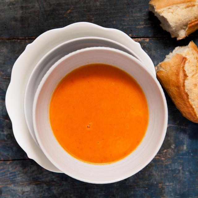 Rezept von Jekka McVicar: Mediterrane Tomatensuppe mit Rosmarin