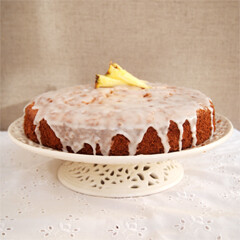 Rezept von Michele Cranston: Ananaskuchen