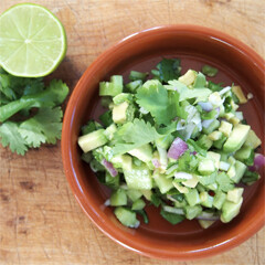 Rezept von Michele Cranston: Avocado-Salsa