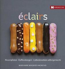 Backbuch von Marianne Magnier-Moreno: Éclairs