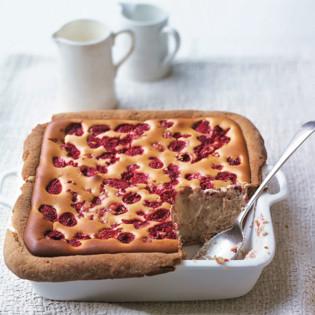 Rezept von Eric Lanlard: Raspberry cheesecake pie