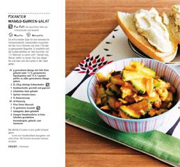 Rezept aus Vegan kochen: Pikanter Mango-Gurken-Salat