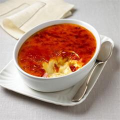 Rezept aus Kochen lernen: Crème brûlée mit Zimt und Orange