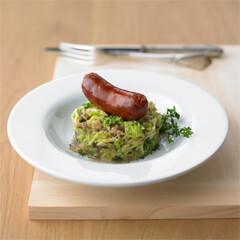 Rezept von S. Basler und B. Habermann: Chorizo mit Wirsing, Speck und Maronen