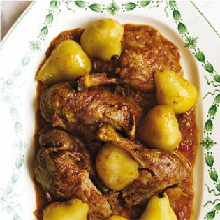 Rezept von Claudia Roden: Ente mit Birne