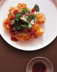 Rezept von Neil Perry: Frittierte Eier mit würzigem Tamarinden-Dressing