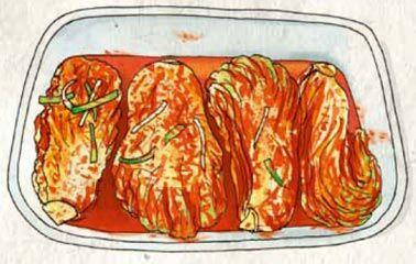 Rezept aus Korea-Kochbuch: Kimchi