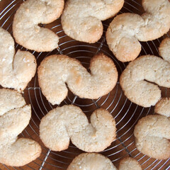 Rezept aus La cucina siciliana: Mandelplätzchen