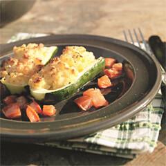 Rezept von Rose Marie Donhauser: Gefüllte Zucchini mit Tomaten