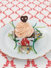 Rezept von Katharina Saheicha, Stefanie Bartsch: Rotwein-Schokolade-Cupcake
